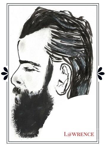 Dessin barbu