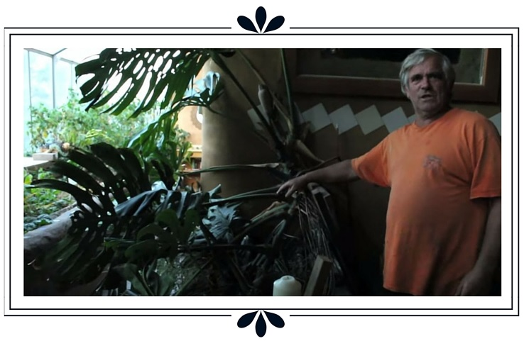 bac plante earthship