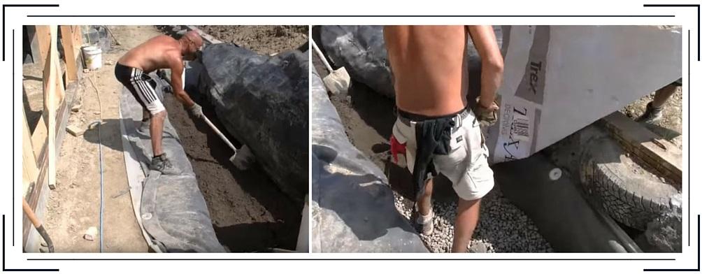 Graviers earthship