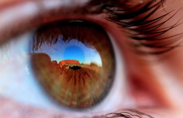 oeil reflexion